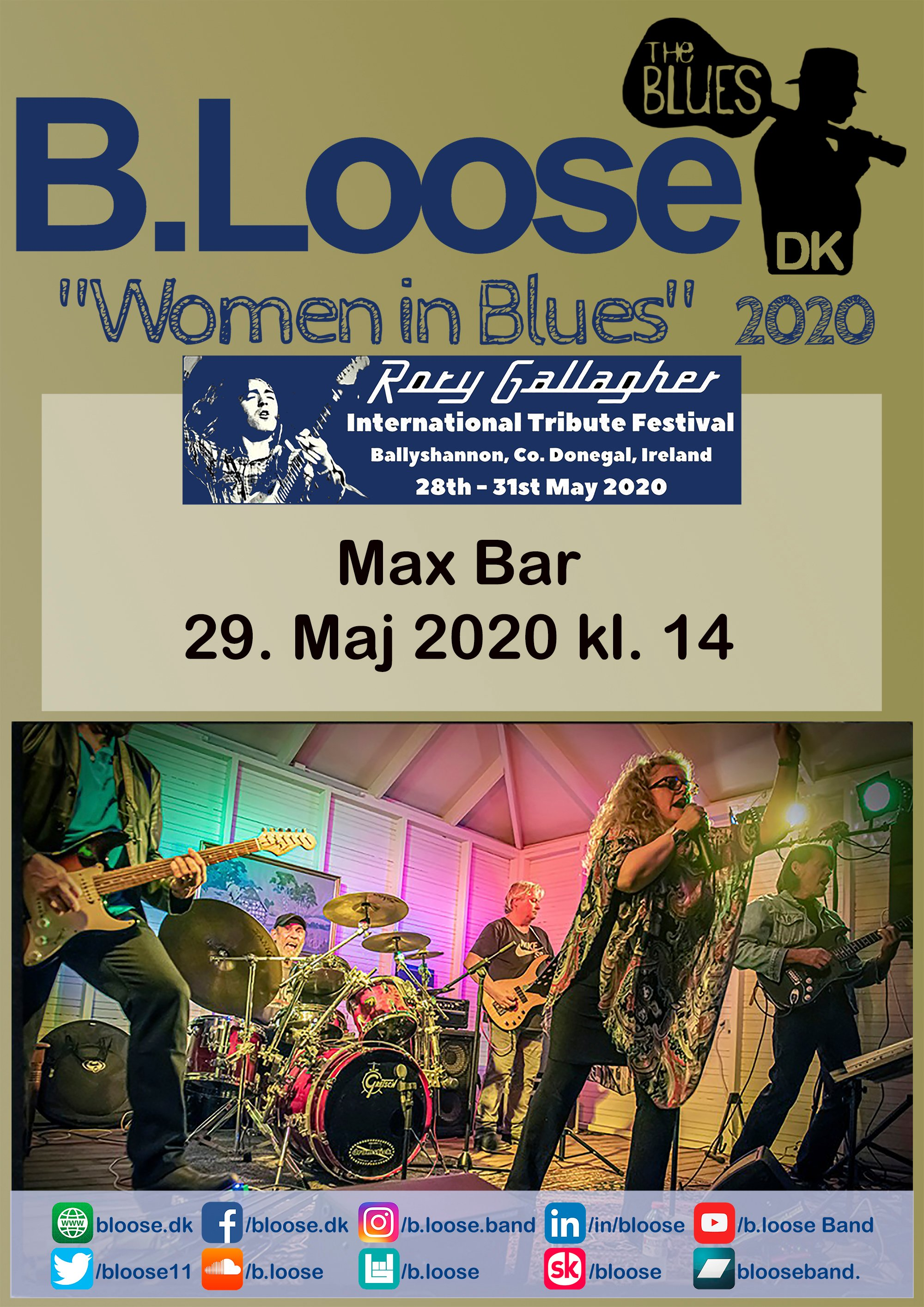 2020.5.29 Max Bar - Rory Gallagher Festival