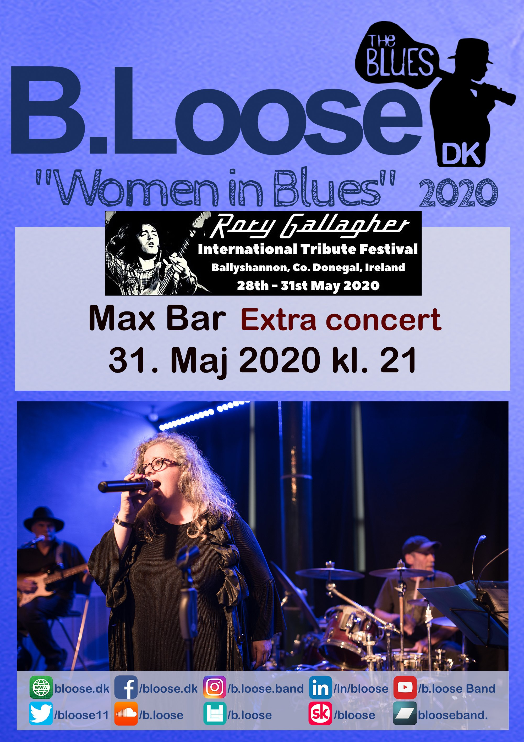 2020.5.31 Max Bar - Rory Gallagher Festival